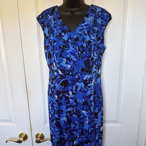 Maggy London Sheath Dress Size 10, Fully Lined